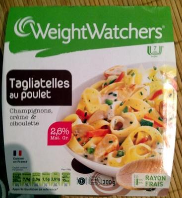 Tagliatelles au poulet - Produit - fr