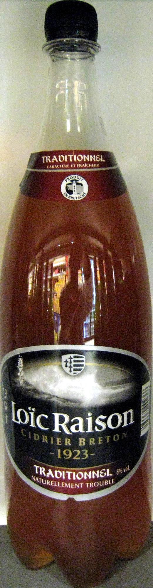 Cidre Breton traditionnel naturellement trouble - Produit - fr