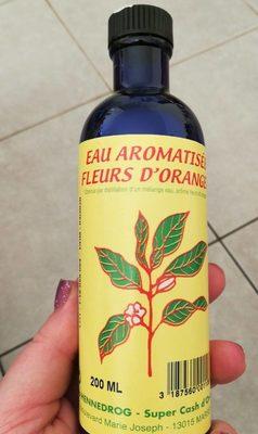 Eau aromatisée fleurs d'oranger - Product