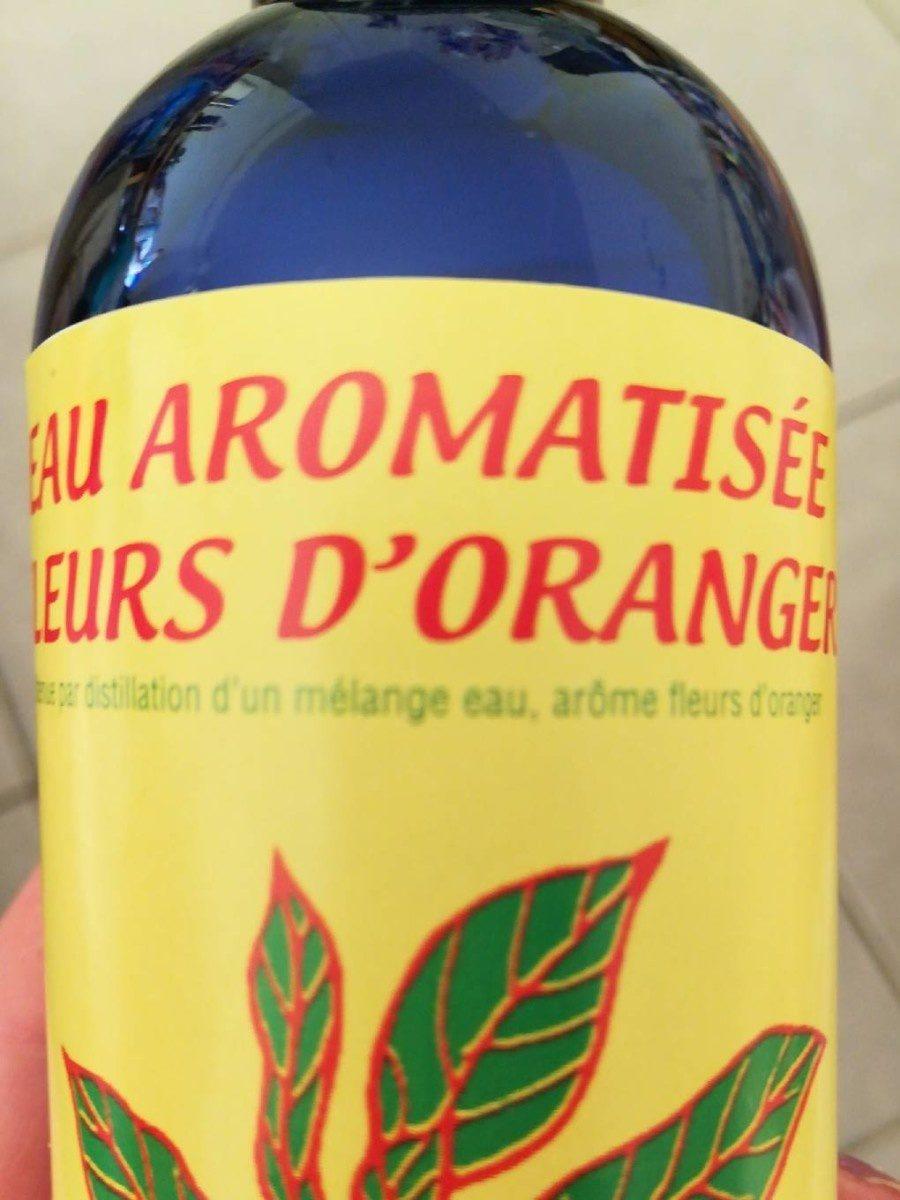 Eau aromatisée fleurs d'oranger - Ingredients