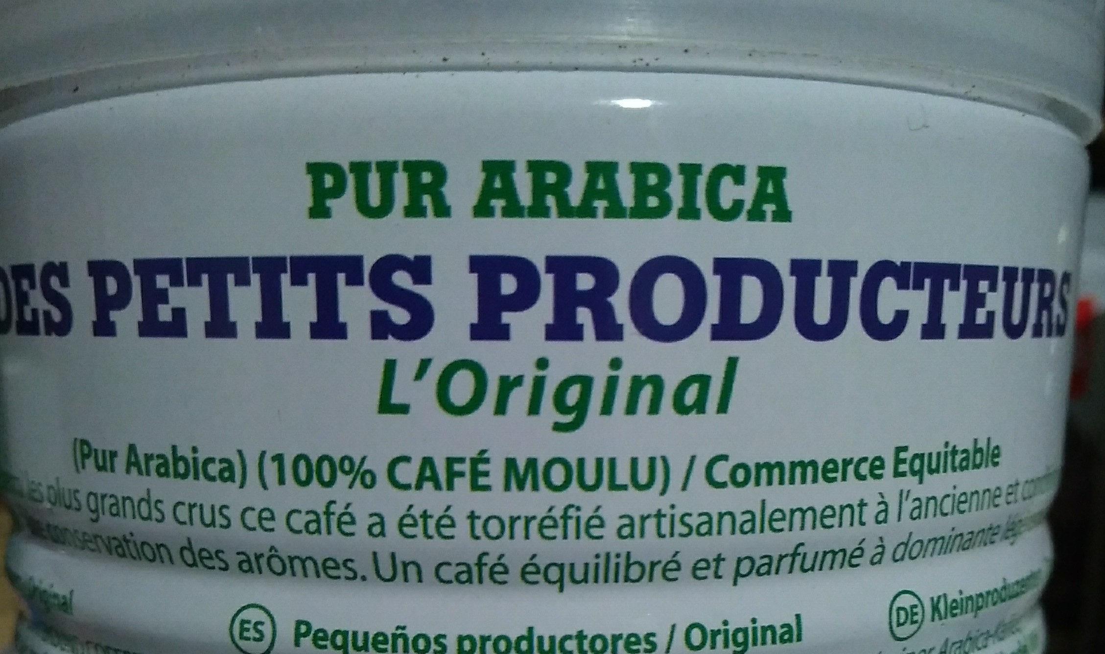 Pur arabica des petits producteurs - Ingredients - fr
