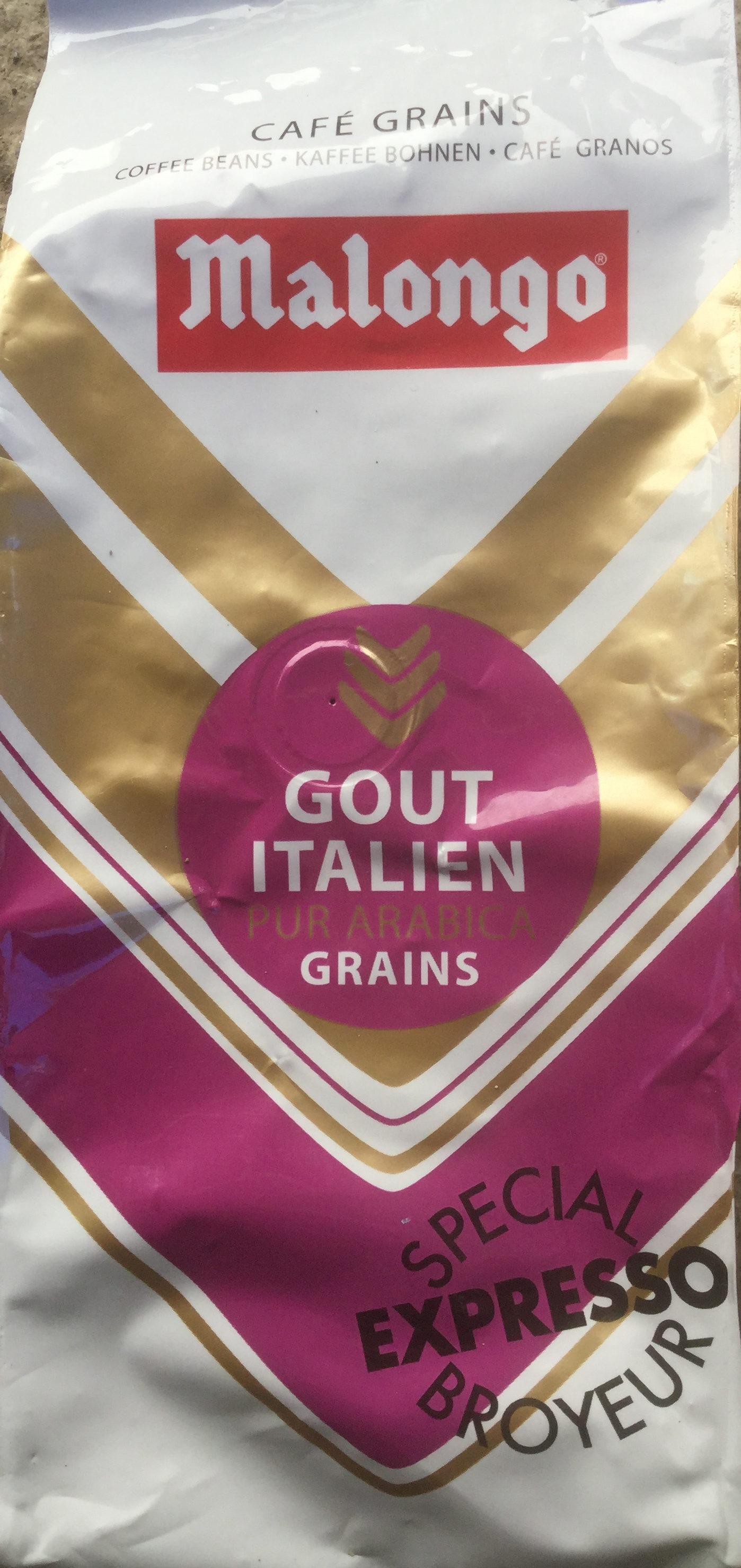 Café Goût Italien en Grains - Prodotto - fr