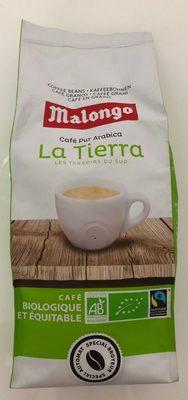 Café bio grains La Tierra Malongo - Product