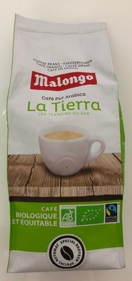Café bio grains La Tierra Malongo - Produit - fr