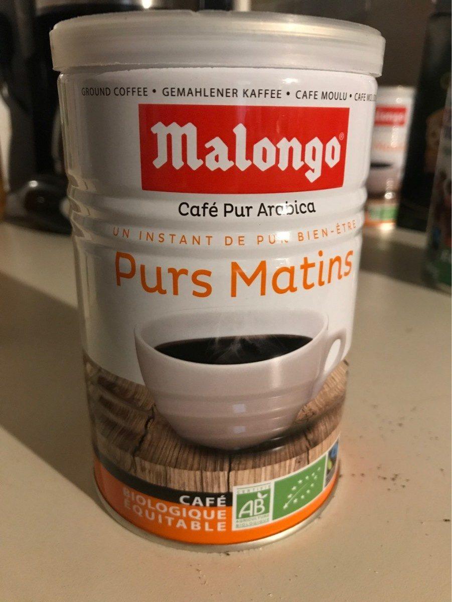 Les Purs Matins Café Allégé Pur Arabica, La Boîte De 250g - Prodotto - fr