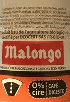 Les Purs Matins Café Allégé Pur Arabica, La Boîte De 250g - Ingredienti - fr