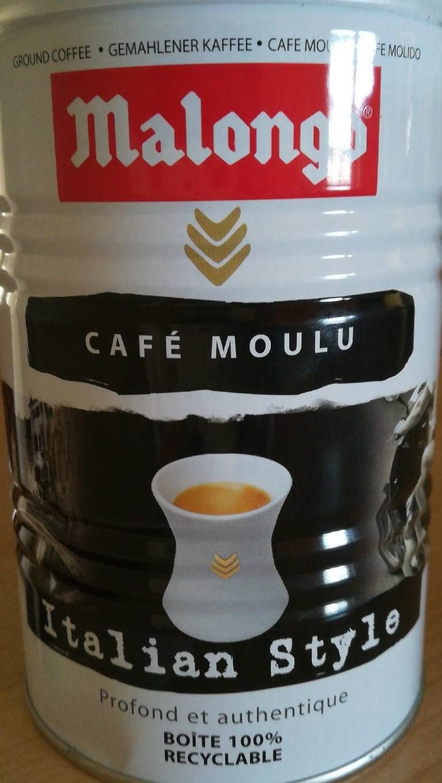 Malongo Café moulu Italian Style 250 g - Prodotto - fr
