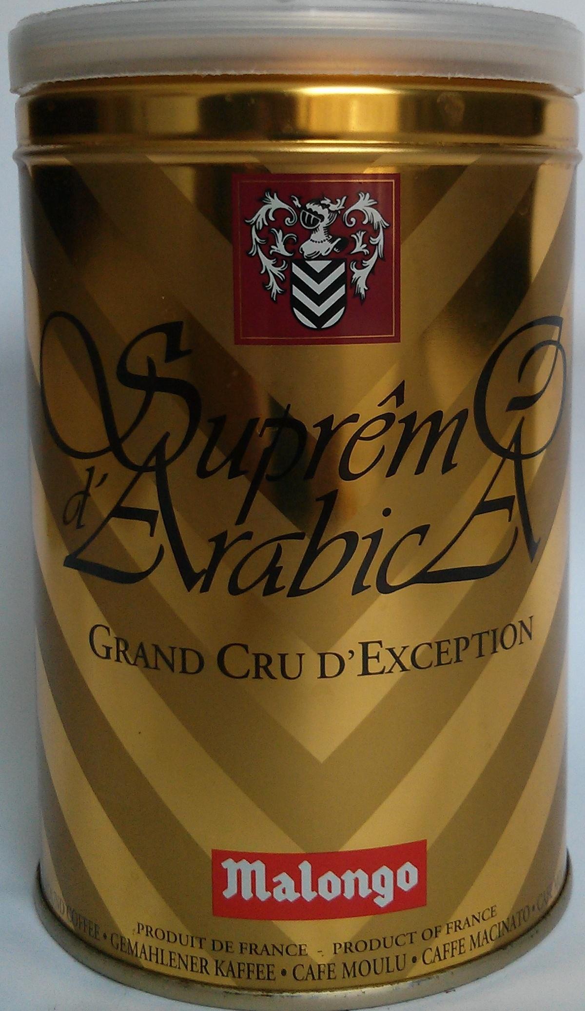 Suprême d'Arabica Grand cru d'exception - Produit - fr