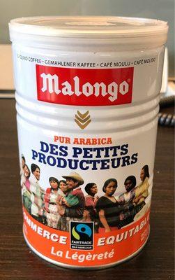 250G Cafe Bte Petit Producteur Legerete Malongo - Prodotto - fr