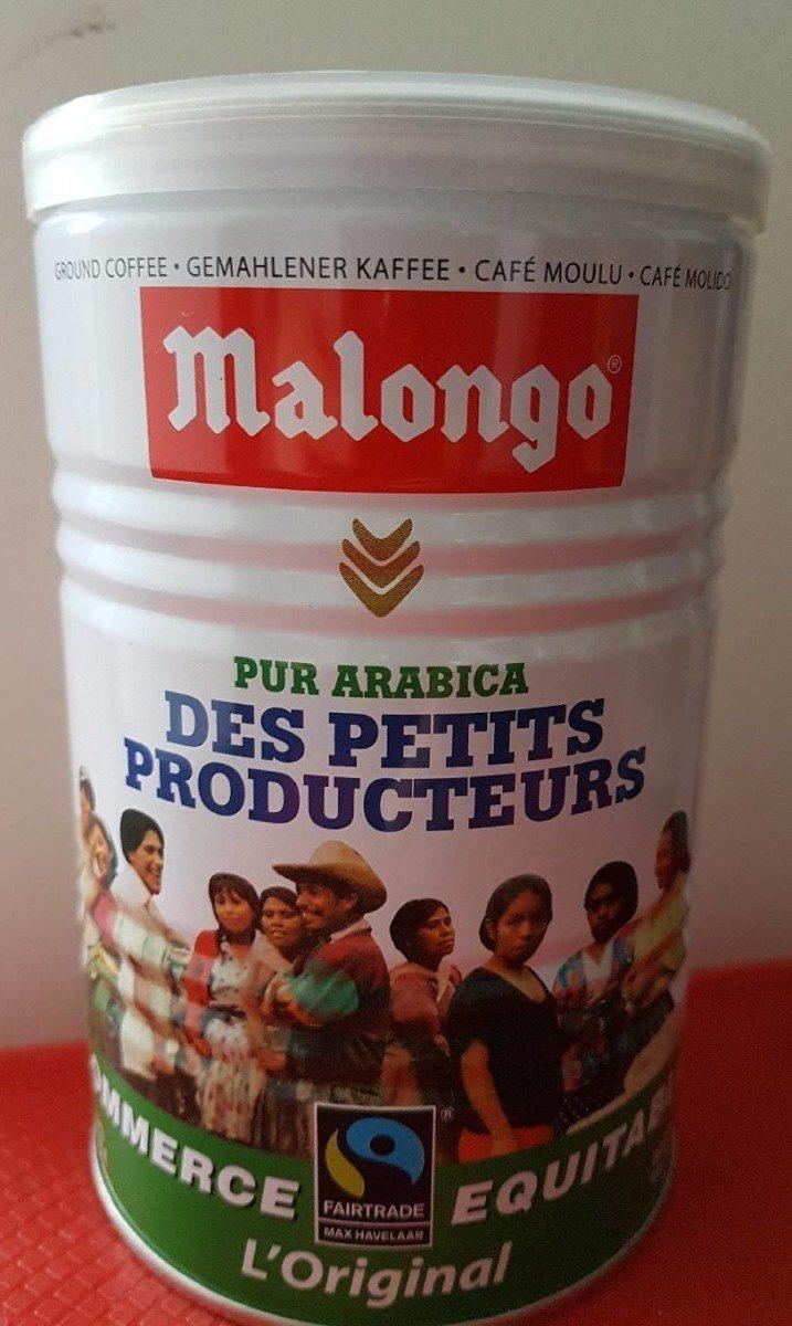 Café moulu pur arabica des petits producteurs - Product