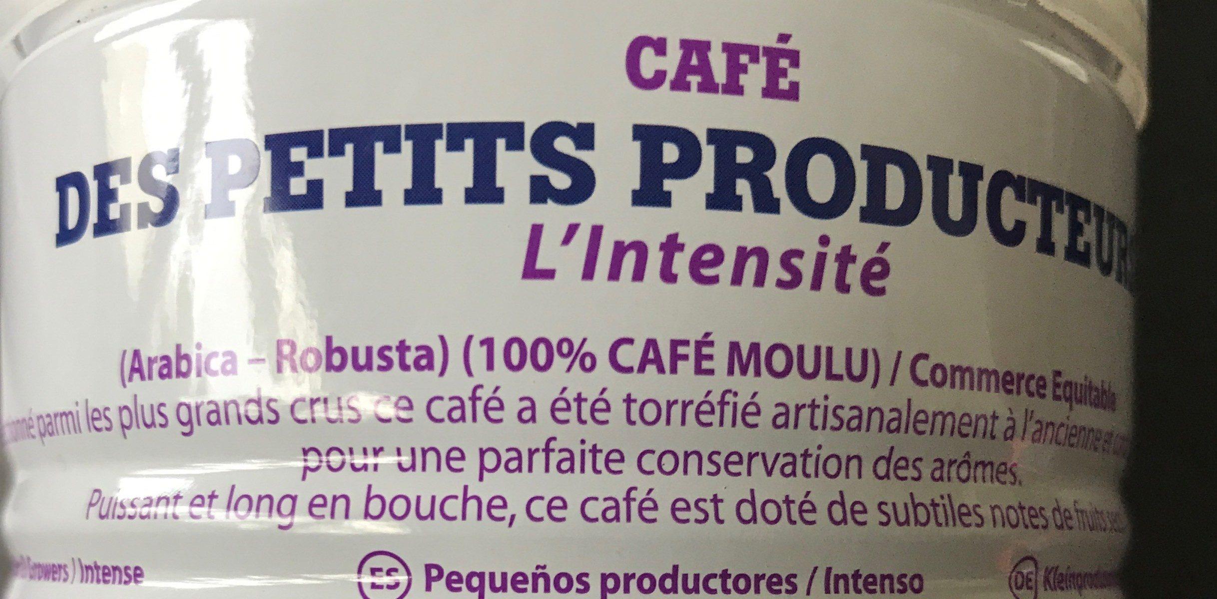 Café des petits producteur - Ingredienti - fr