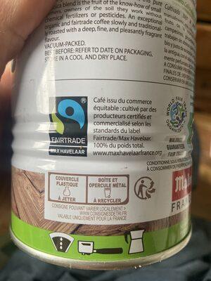 La Tierra - Istruzioni per il riciclaggio e/o informazioni sull'imballaggio - fr