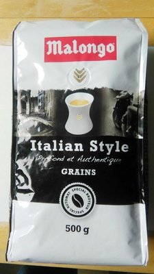 500G Cafe Grains Italien Style Malongo - Product