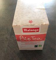 Bio tea malongo rooibos thé rouge - Prodotto - fr