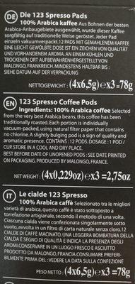 les cafés éphémères - Ingredienti - fr