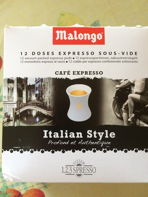 Cafe expresso italian style - Prodotto - fr