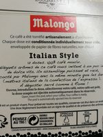 Cafe expresso italian style - Ingredienti - fr