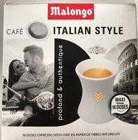 café malongo italian style - Prodotto - fr