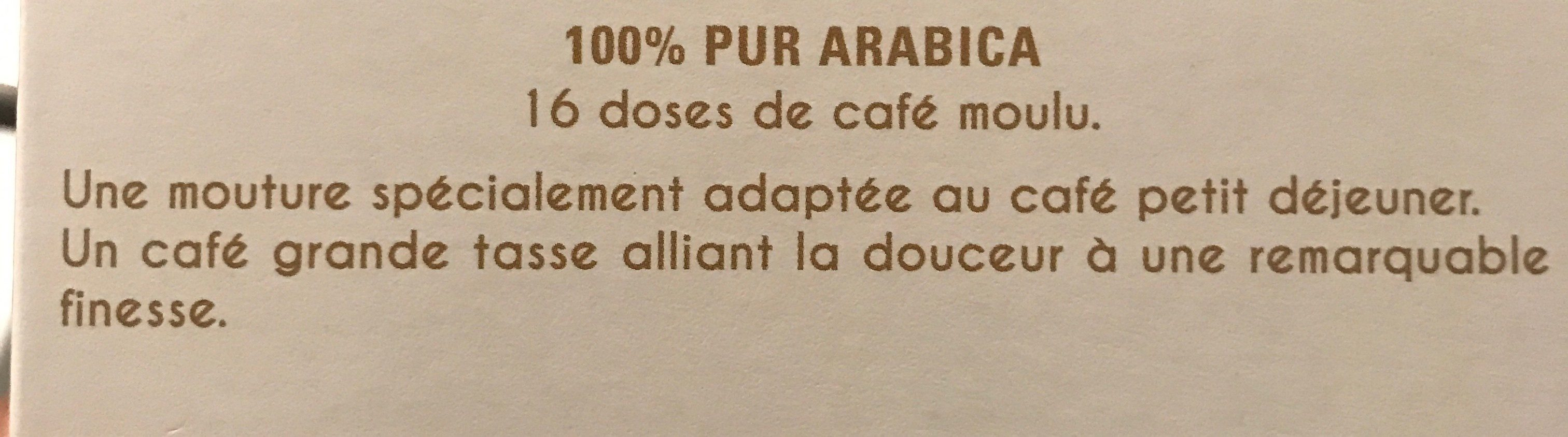 Café La Grande Réserve - Ingredienti - fr