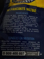 Pancakes - Ingredients - fr
