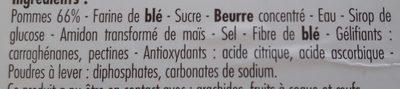 Tarte aux pommes - Ingrédients - fr