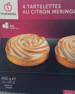 4 Tartelettes Citron Meringuées - Product - fr