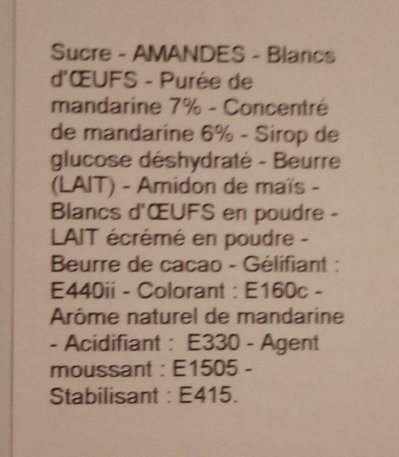 macarons découverte X 72 - Ingredients - fr