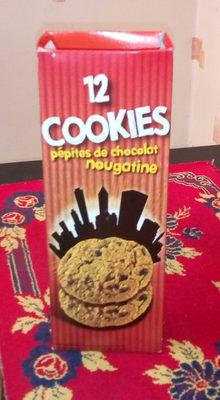 Cookies pepites de chocolat nougatine - Product - fr