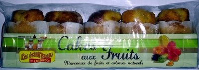 Cakes aux fruits - Product