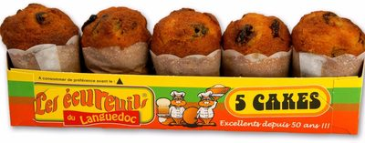 Cake Au raisins - Product - fr