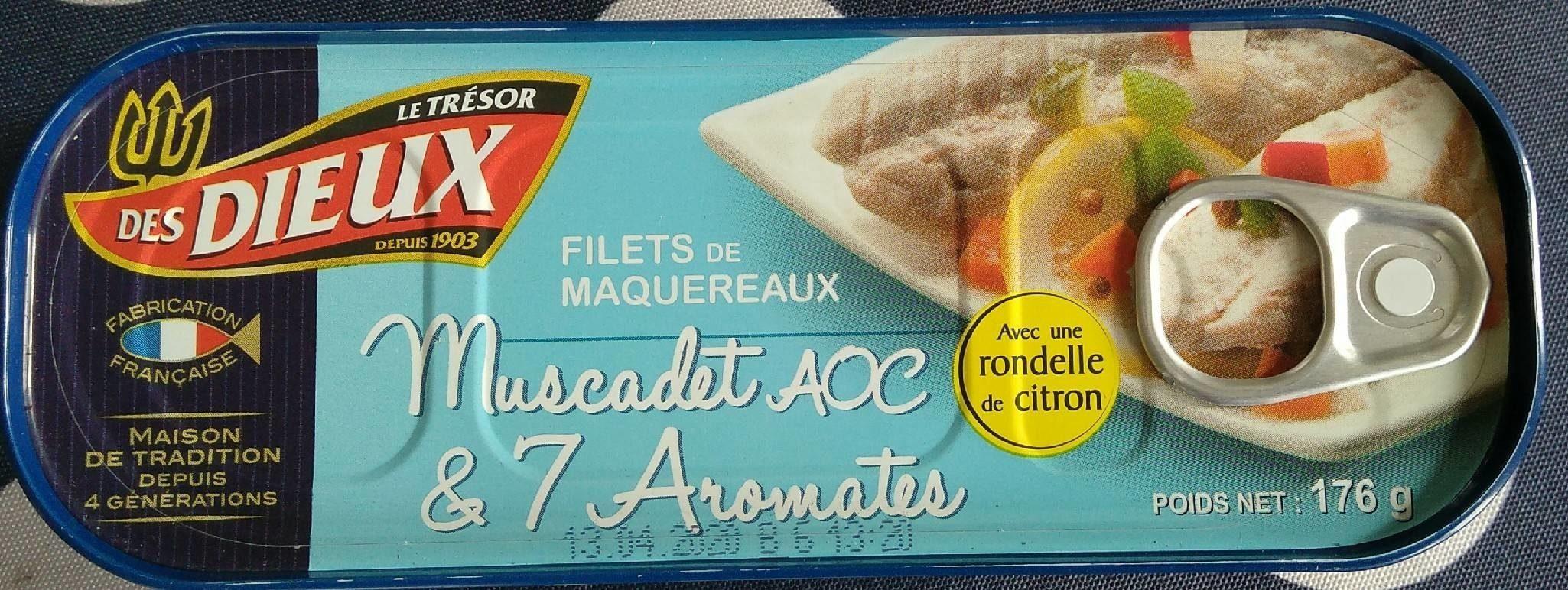 Filets de Maquereaux Muscadet AOC - Product - fr