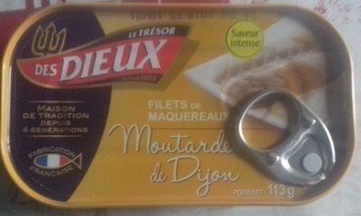 Filet de maquereaux - Moutarde de dijon - Prodotto - fr