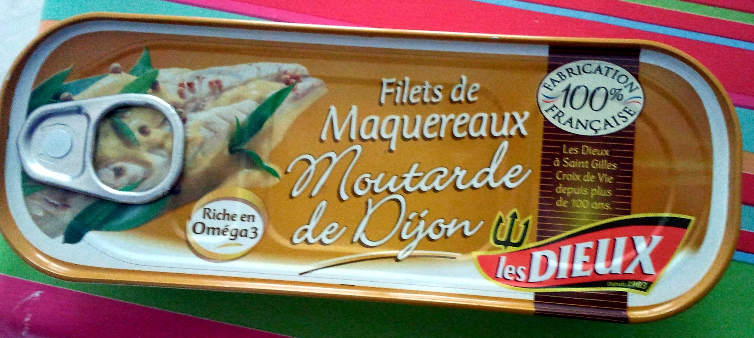 Filets de maquereaux à la moutarde de Dijon - Produit - fr