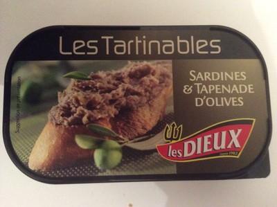 Les Tartinables (Sardines & Tapenade d'Olives) - 1