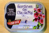 Sardines de l'Ile de Ré - Produit - fr