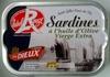 Sardines à l'huile d'Olive Vierge Extra (Label Rouge) - Produit