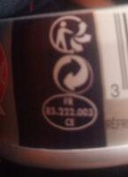 Sardines à l'huile d'Olive Vierge Extra (Label Rouge) - Instruction de recyclage et/ou information d'emballage - fr
