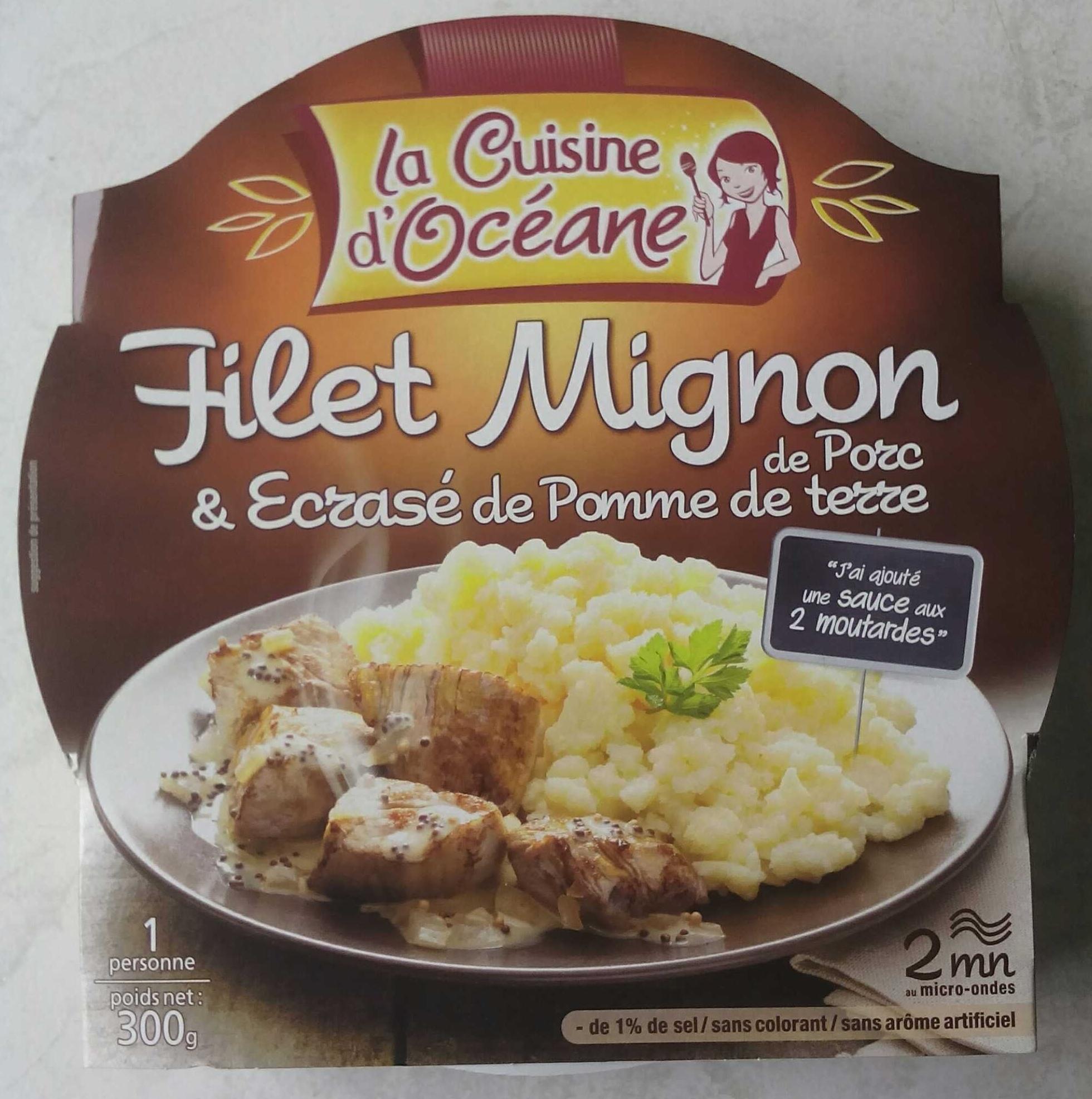 Filet Mignon De Porc Et Ecrase De Pomme De Terre La Cuisine D