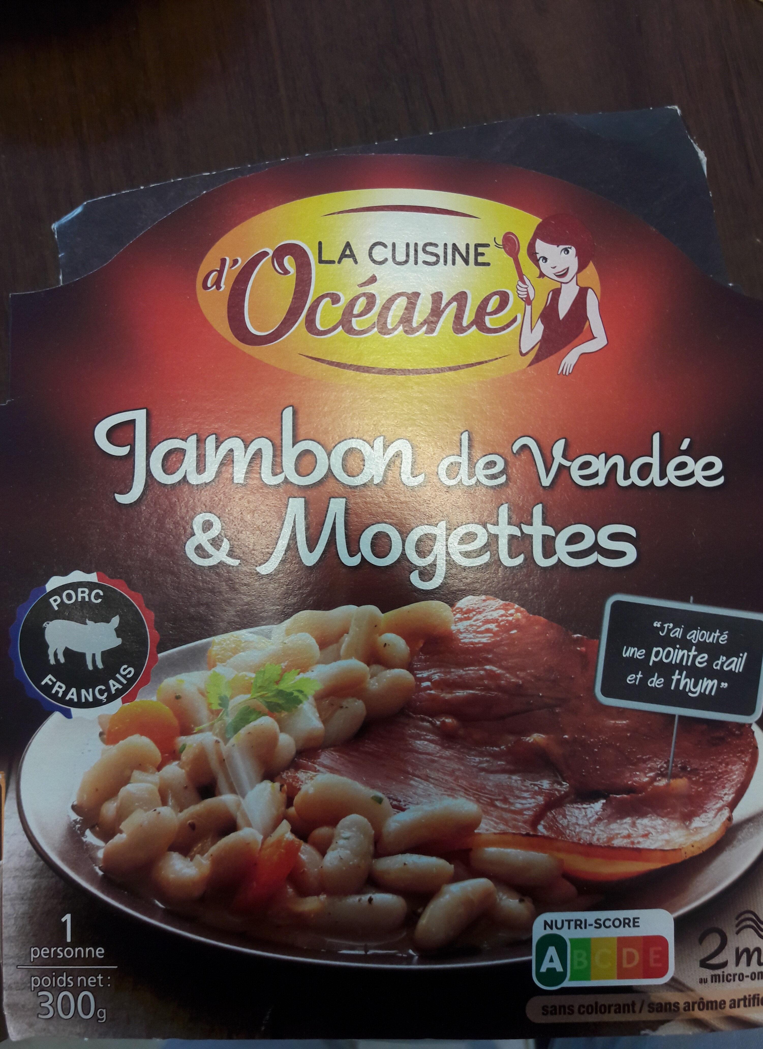 Jambon de Vendée et mojettes - Produit - fr