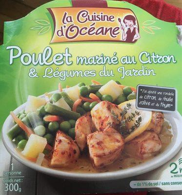 Poulet marin au citron l gumes du jardin la cuisine d - Composition du sel de cuisine ...