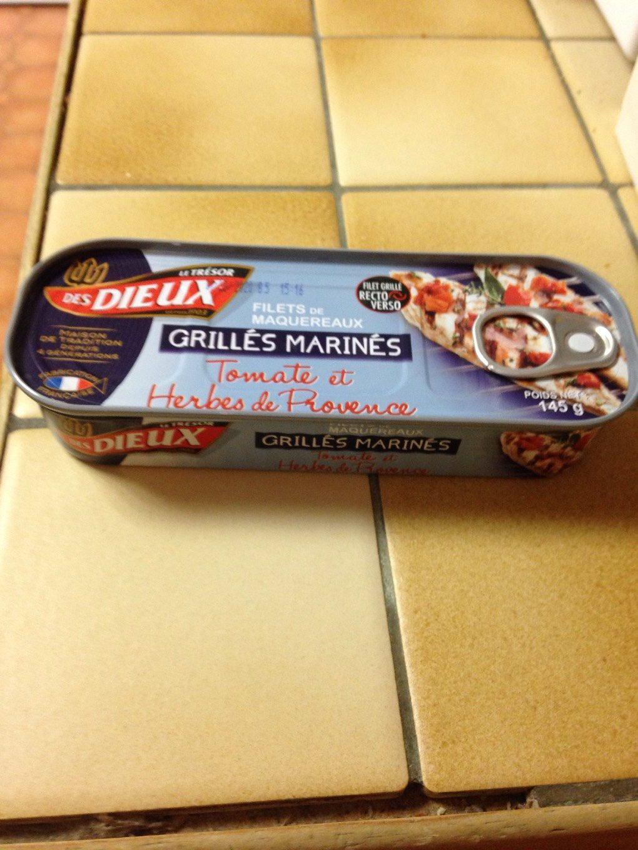 Maquereaux grillés marinés - Product