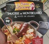 Saucisse de Monbéliard & Potée de légumes - Produit