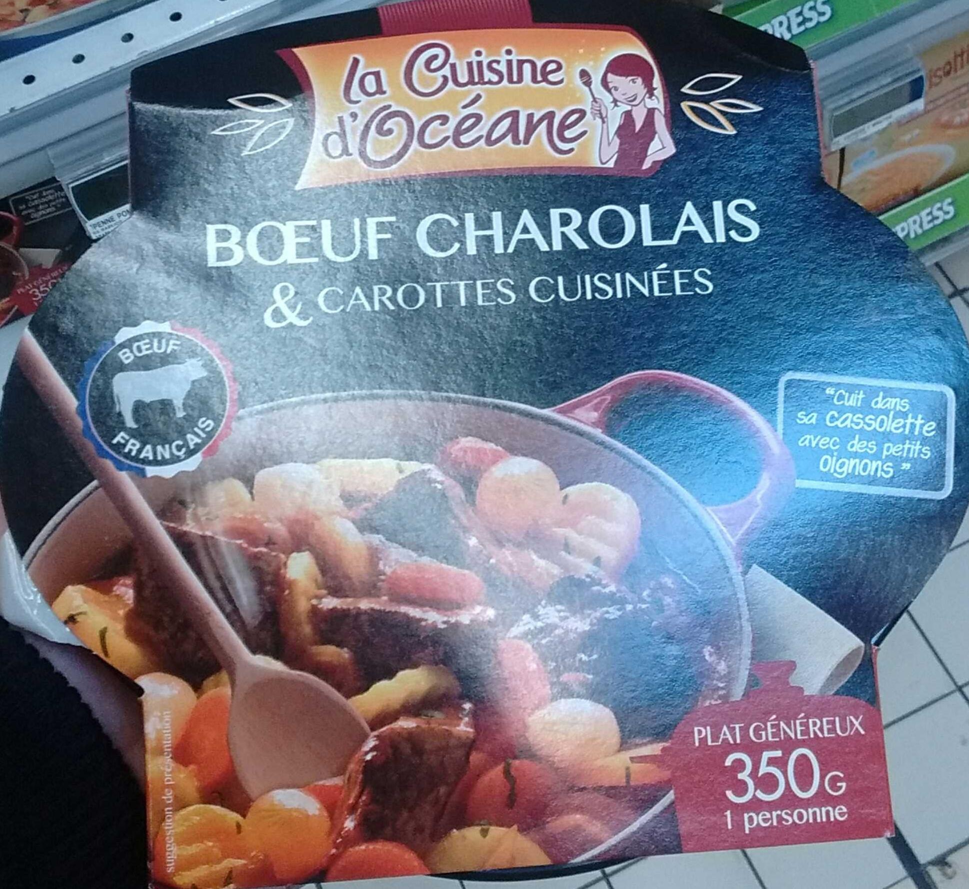 Bœuf charolais & carottes cuisinées - Produit