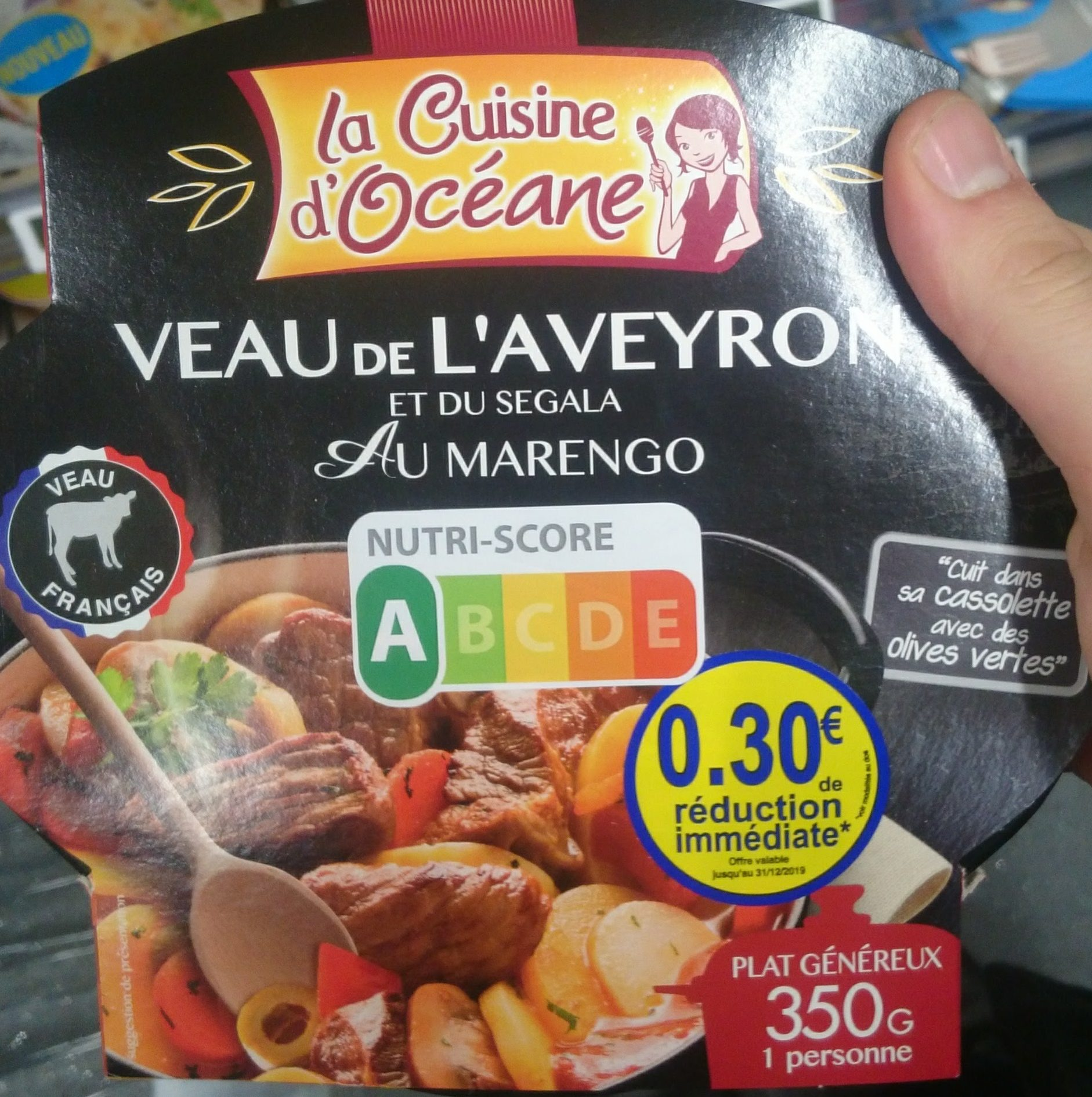 Veau de l'Aveyron et du Segala au Marengo - Produit - fr