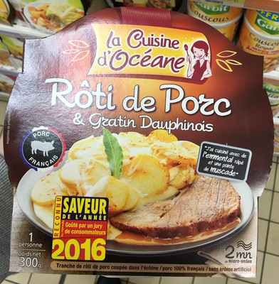 Rôti de Porc & Gratin Dauphinois - Produit - fr