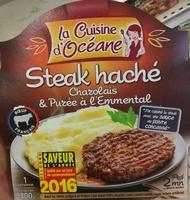 Steak haché Charolais & Purée à l'Emmental - Product - fr