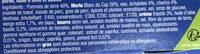 Merlu blanc du Cap au Chorizo, purée, huile d'olive et basilic - Ingrédients - fr