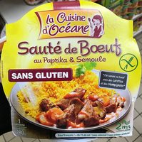Sauté de Boeuf au Paprika & Semoule - Produit - fr