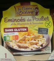 Émincés de Poulet à la Moutarde & Torsades - Product