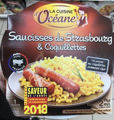 Saucisses de Strasbourg & coquillettes - Product - fr
